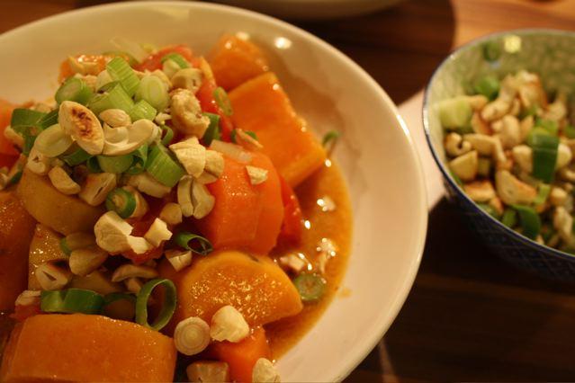 kitchencat-Süßkartoffelcurry