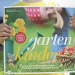 """Am liebsten Draußen! Mit dem Buch """"Gartenkinder"""""""