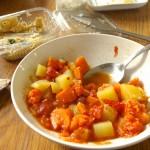 Ein-Topf-Gericht: Kartoffeln aus Marokko