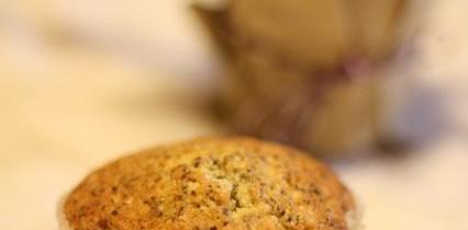 Super-mega-saftige Birnen-Mohn-Muffins