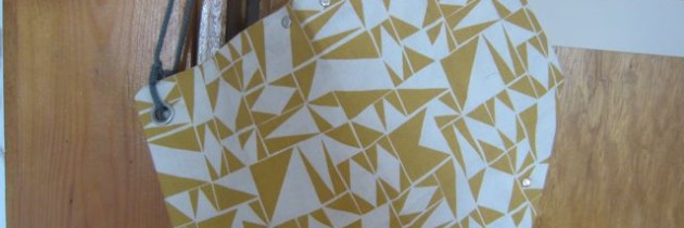 Super-Origami-Frühlings-Tasche