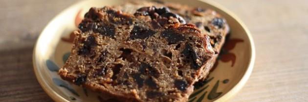 Ein altes Rezept wieder ausgegraben: Gekochter Früchtekuchen