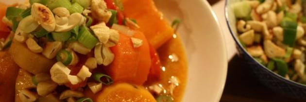 Reiserezept #2: Süßkartoffel-Curry